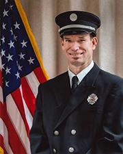 Firefighter Jason Beck