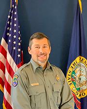 Conservation Officer Randy Martinez