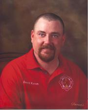Firefighter David Earl Korom
