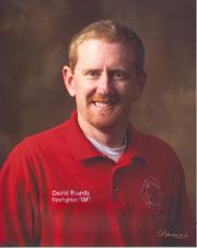 Firefighter David Lauren Roundy, Sr.