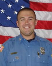 Firefighter Nathan Hyder